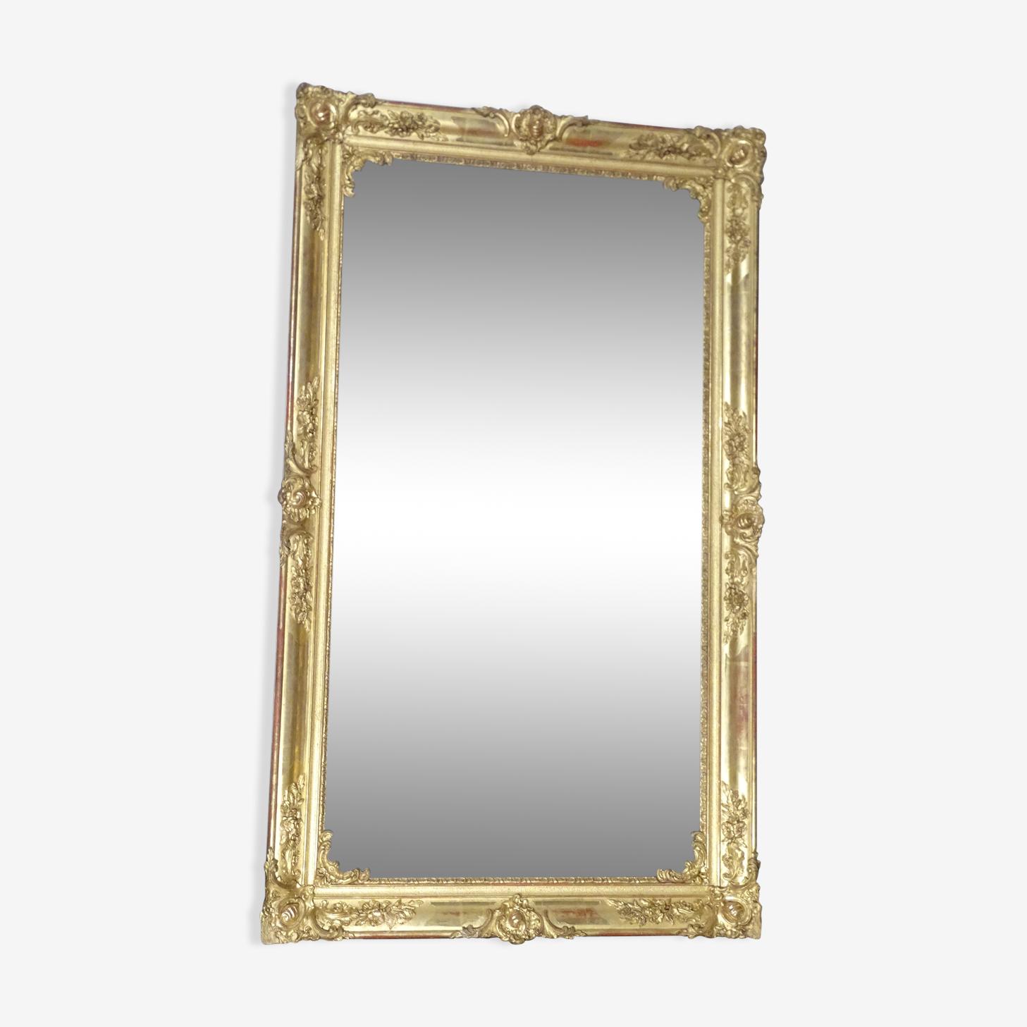 Miroir fin XIXème, 75x170cm