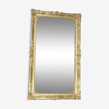 Mirror end XIXth century, 75x170cm
