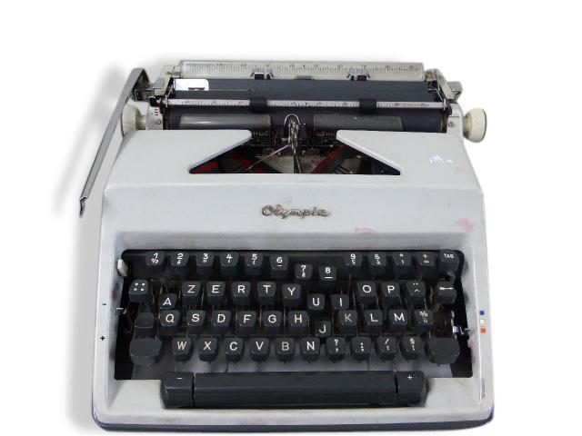 Machine a ecrire olympia