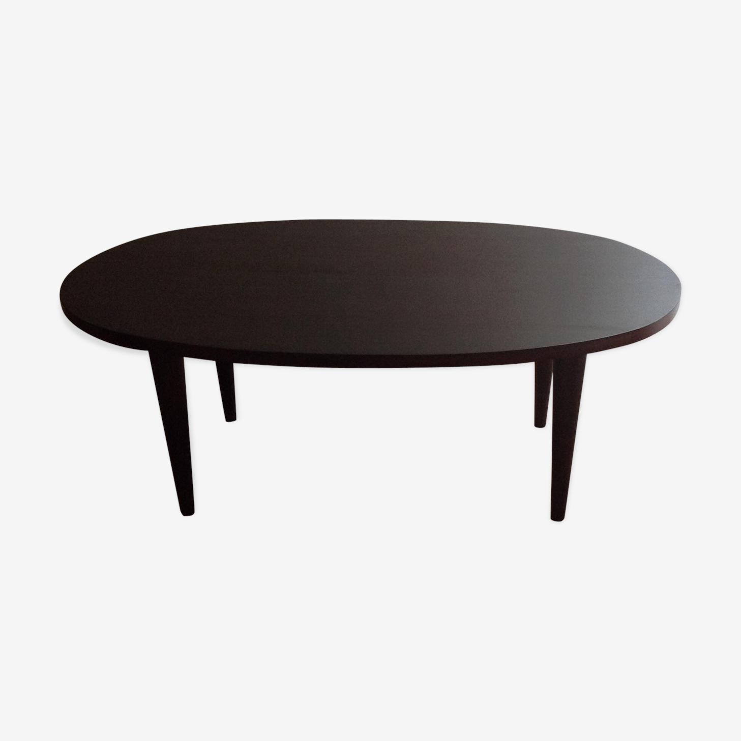 Table ovale année 60