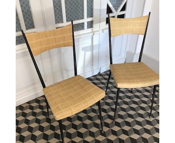 Chaises vintage Colette Gueden