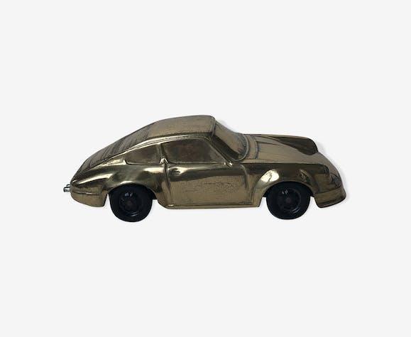 Voiture En 911 Marque Porsche Jal Doré Vintage Laiton rdxBoWCe