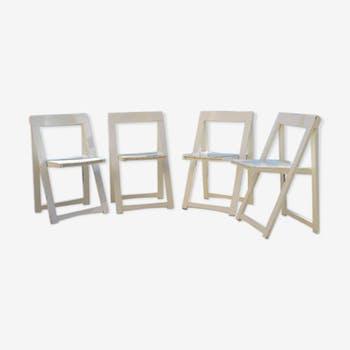 4 Aldo Jacober folding chairs