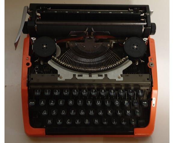 Machine à écrire Brother électro calcul 240 orange