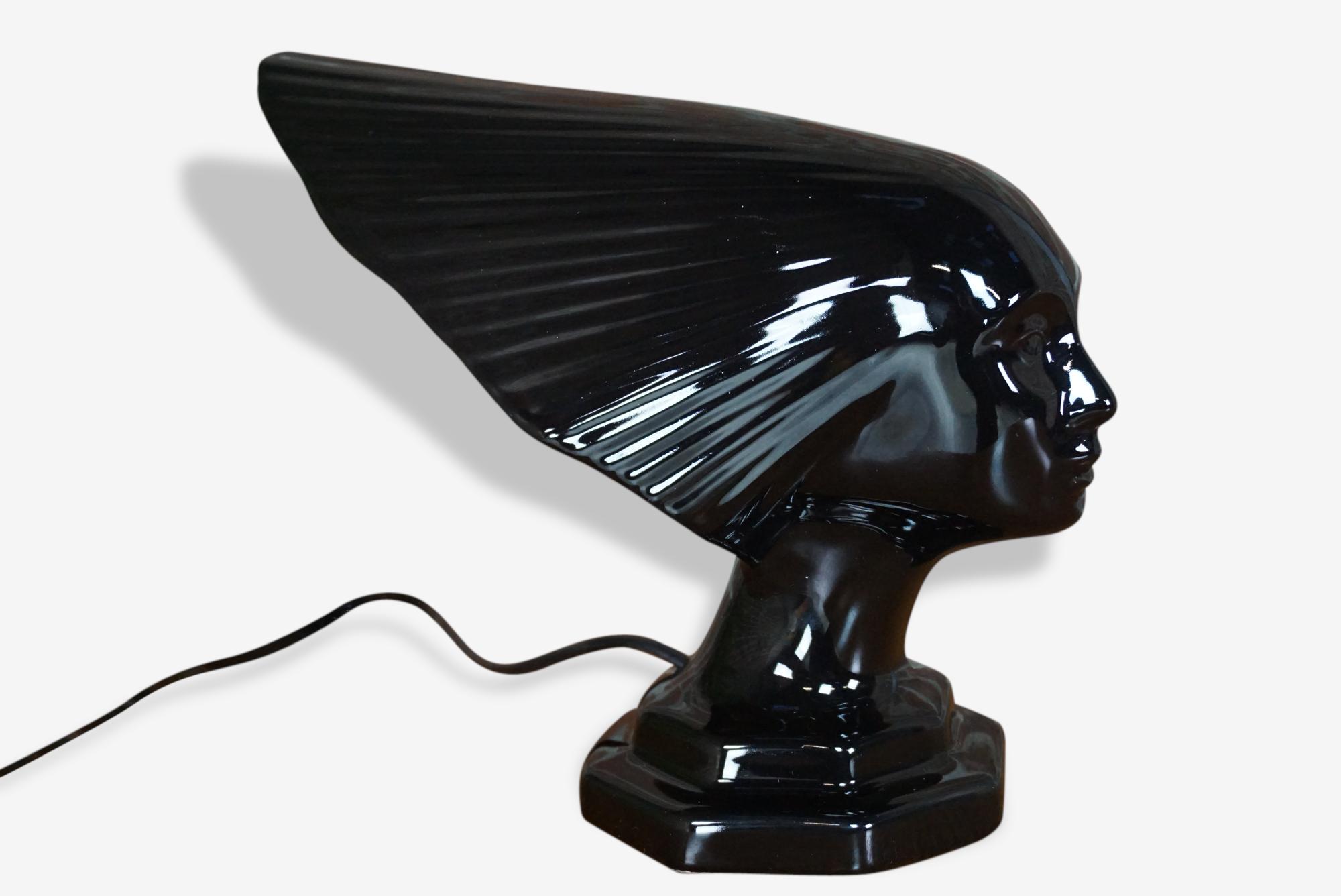lampe représentant la Victoire de Lalique