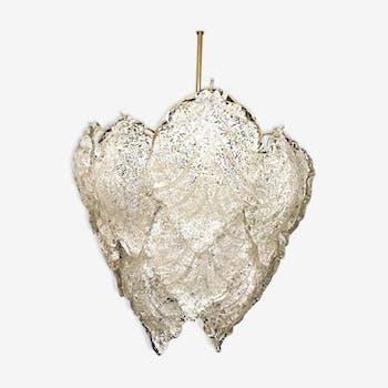 Mazzega chandelier 1960