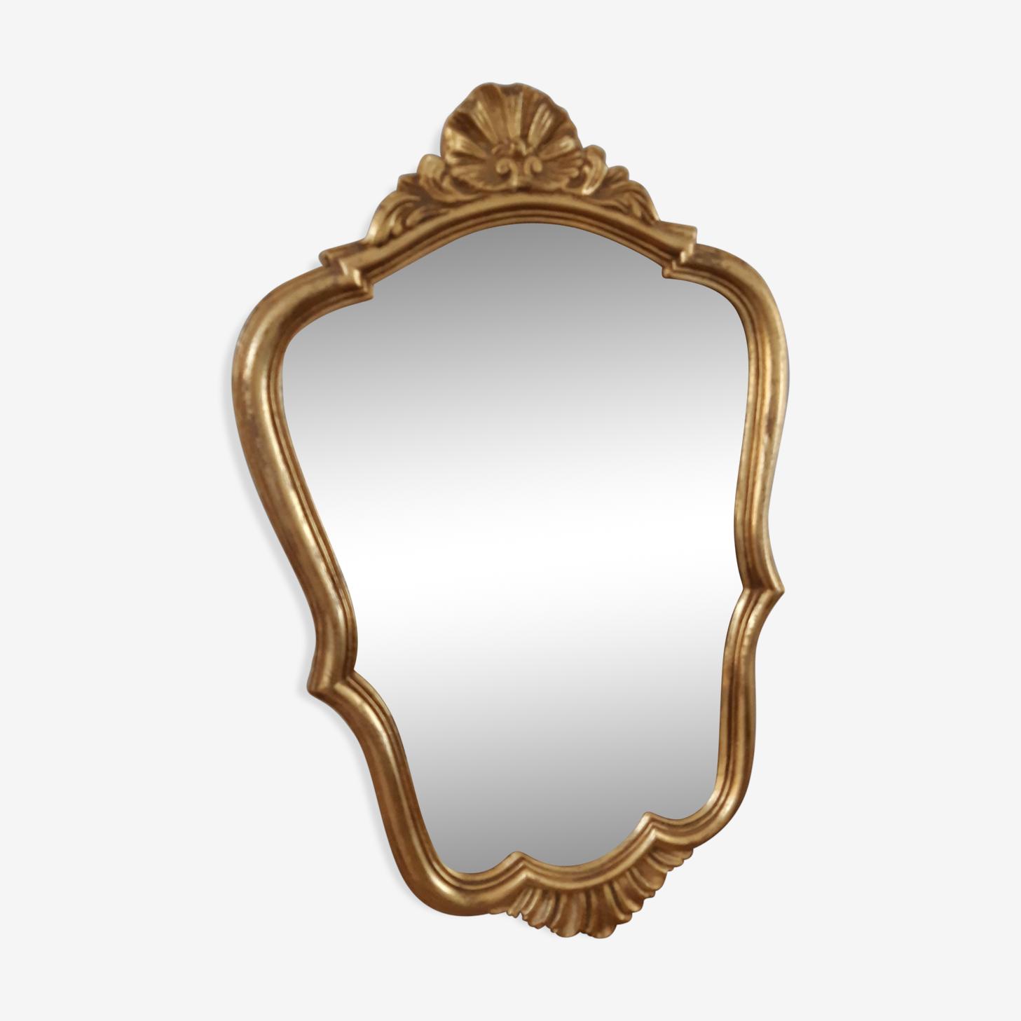 Miroir doré 31x50cm