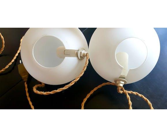 Lampes boules vintage