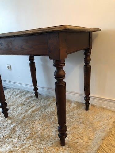 Table en chêne ancienne