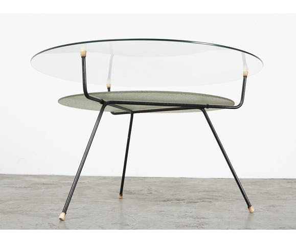 Table basse modèle 509 par W.H. Gispen pour Kembo 1950s