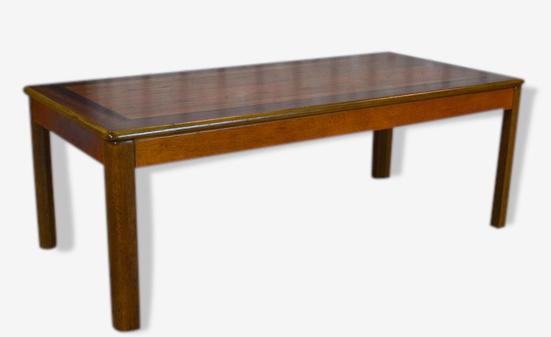 Table Basse Design Scandinave Vintage 1970