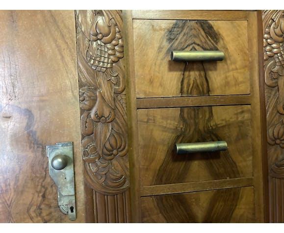 Buffet 4 tiroirs et deux portes art déco années 1930