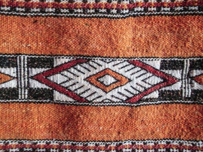 Carpet Moroccan kilim - 253 x 80 cm