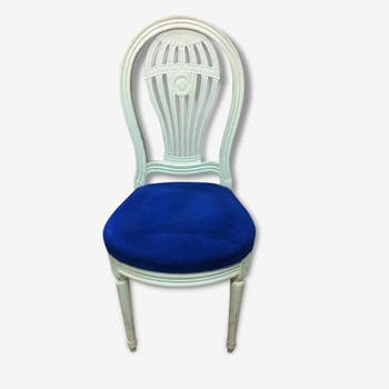 Set of 6 chairs in wood, balloon