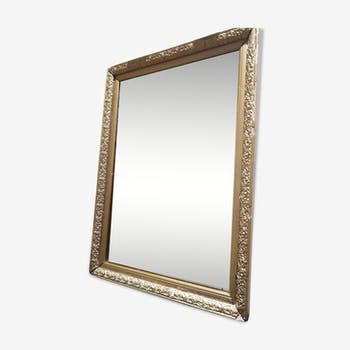 Miroir doré style Napoléon lll 51x36cm