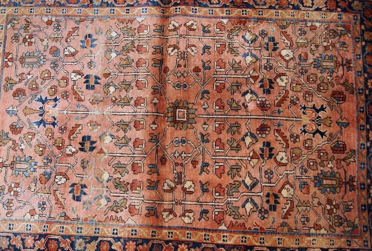 Tapis ancien persan sarouk 113 x 164cm 1920s