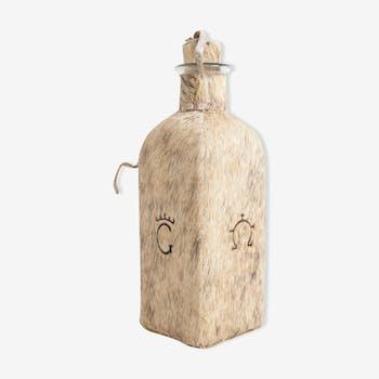 Fur vintage bottle