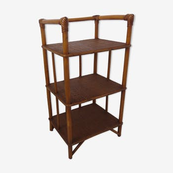 Shelf rattan bamboo 60/70