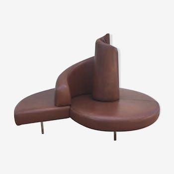 "Sofa ""Tatlin"" Designer Semprini/Cananzi editor Edra 1989"
