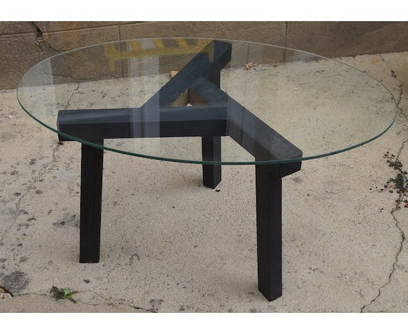 Table basse tripode 1950