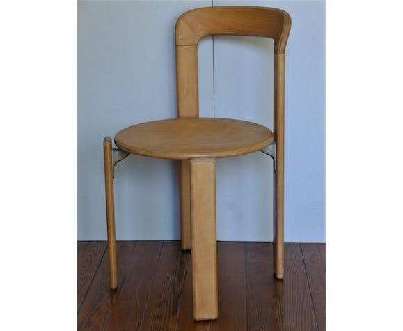 Lot de quatre chaises modèle 33 de Bruno Rey pour Dietiker, années 70