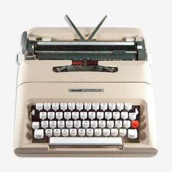 Qwerty typewriter olivetti lettera 35 copy