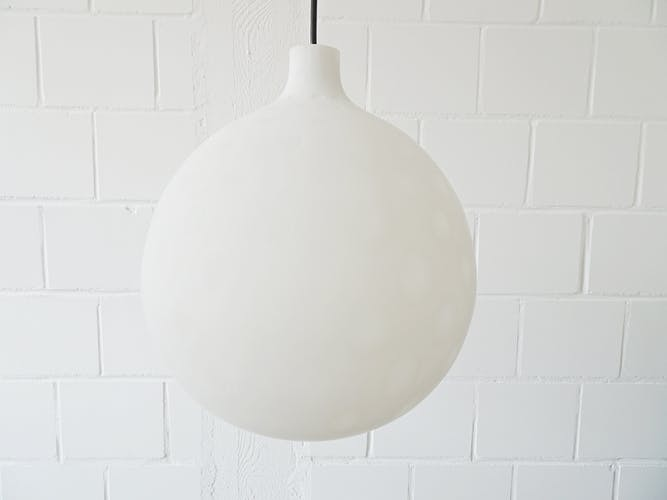 Hanging lamp by Aloys Gangkofner for Peill and Putzler 50/60