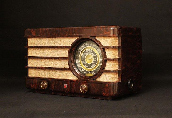 "Poste radio vintage bluetooth ""Philips 470A"""