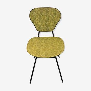 Chaise vintage skaï