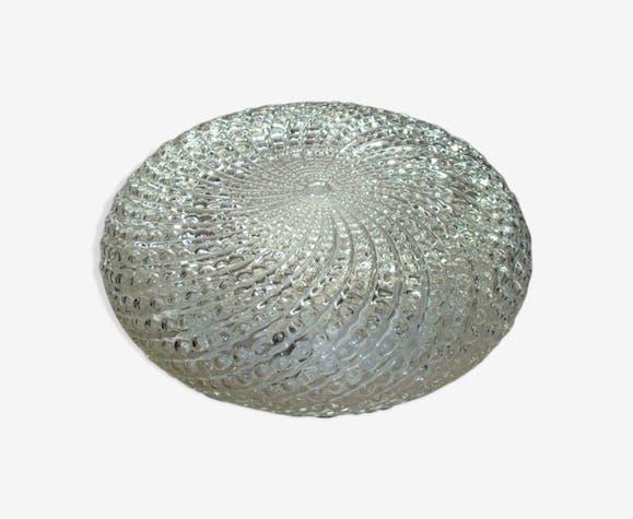 Round glass cap
