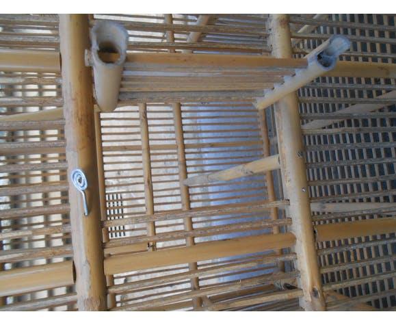 Cage oiseau en bambou