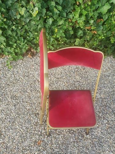 Paire de chaises pliantes