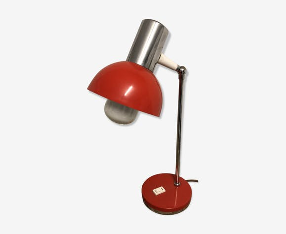 Industrial lamp Red