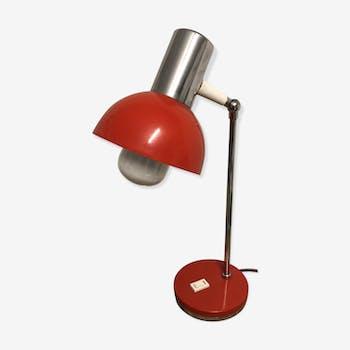 Lampe industriel rouge
