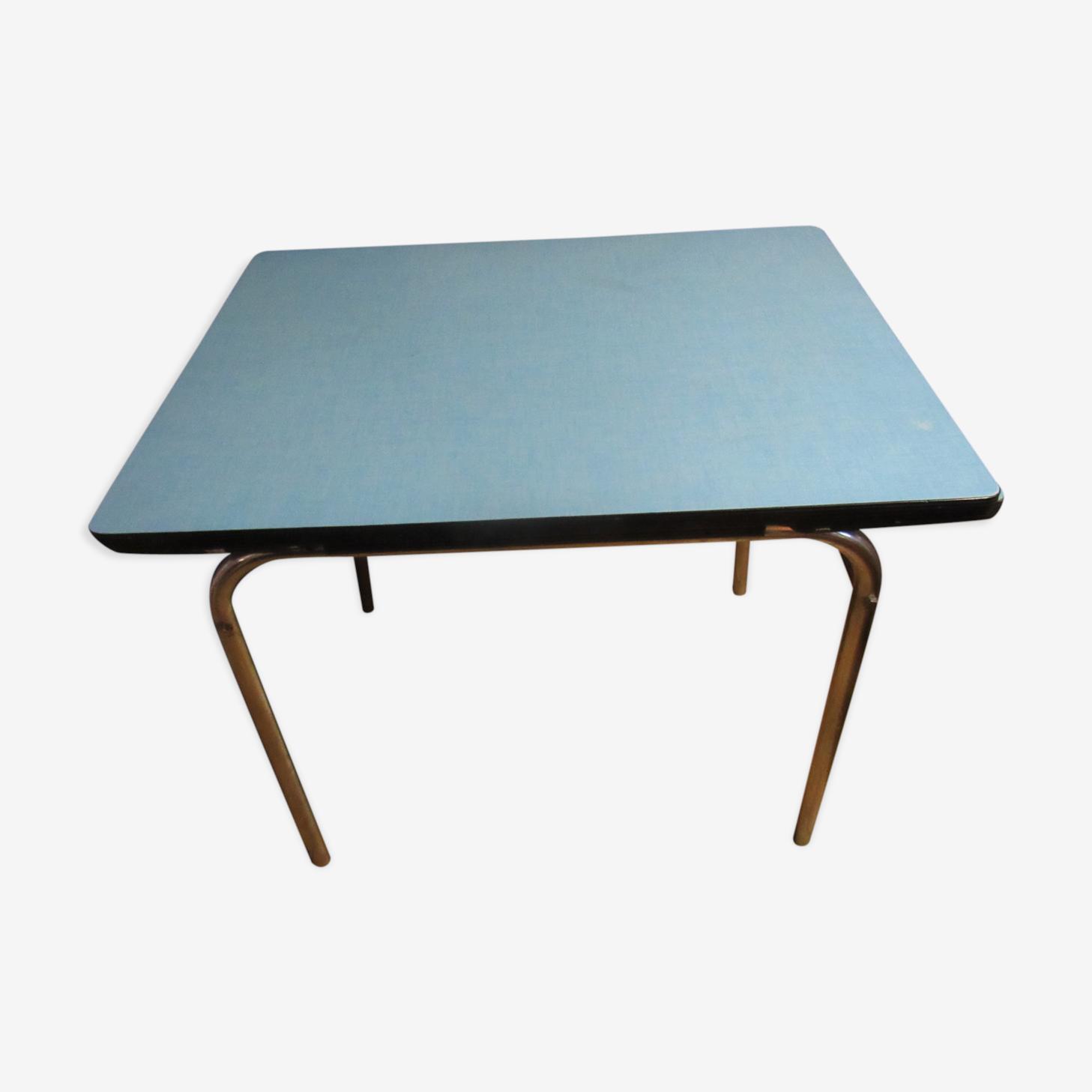 Table En Formica Bleu Formica Bleu Vintage 3eyte4p