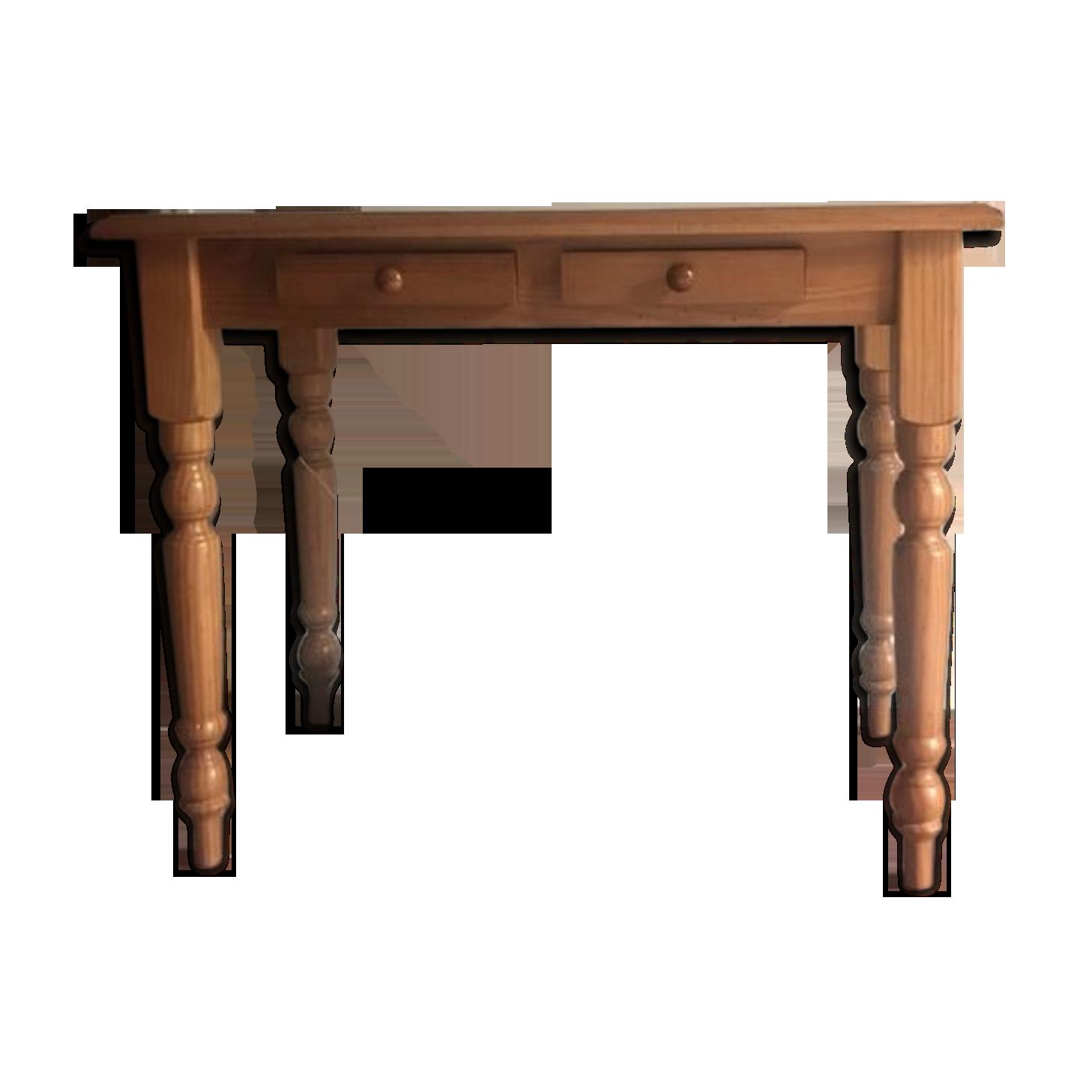 Bureau en bois vernis bois matériau bois couleur