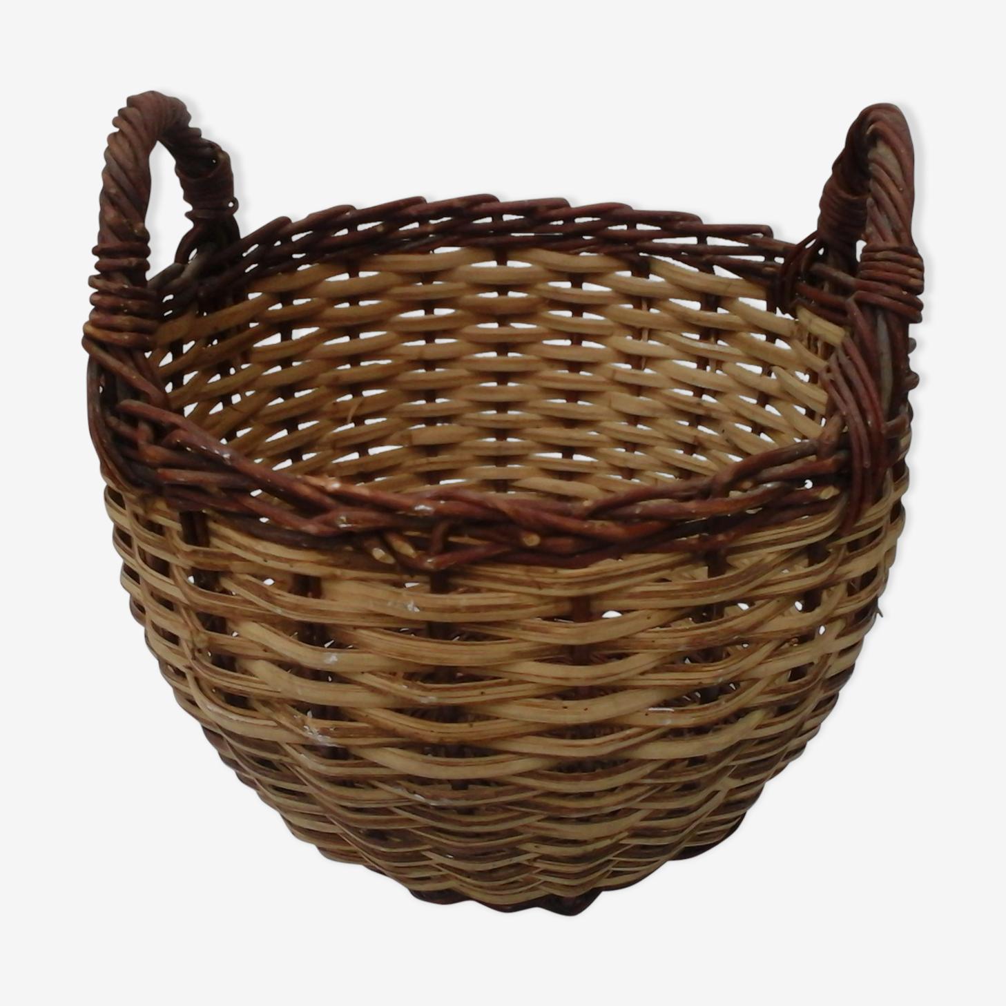 Old round basket