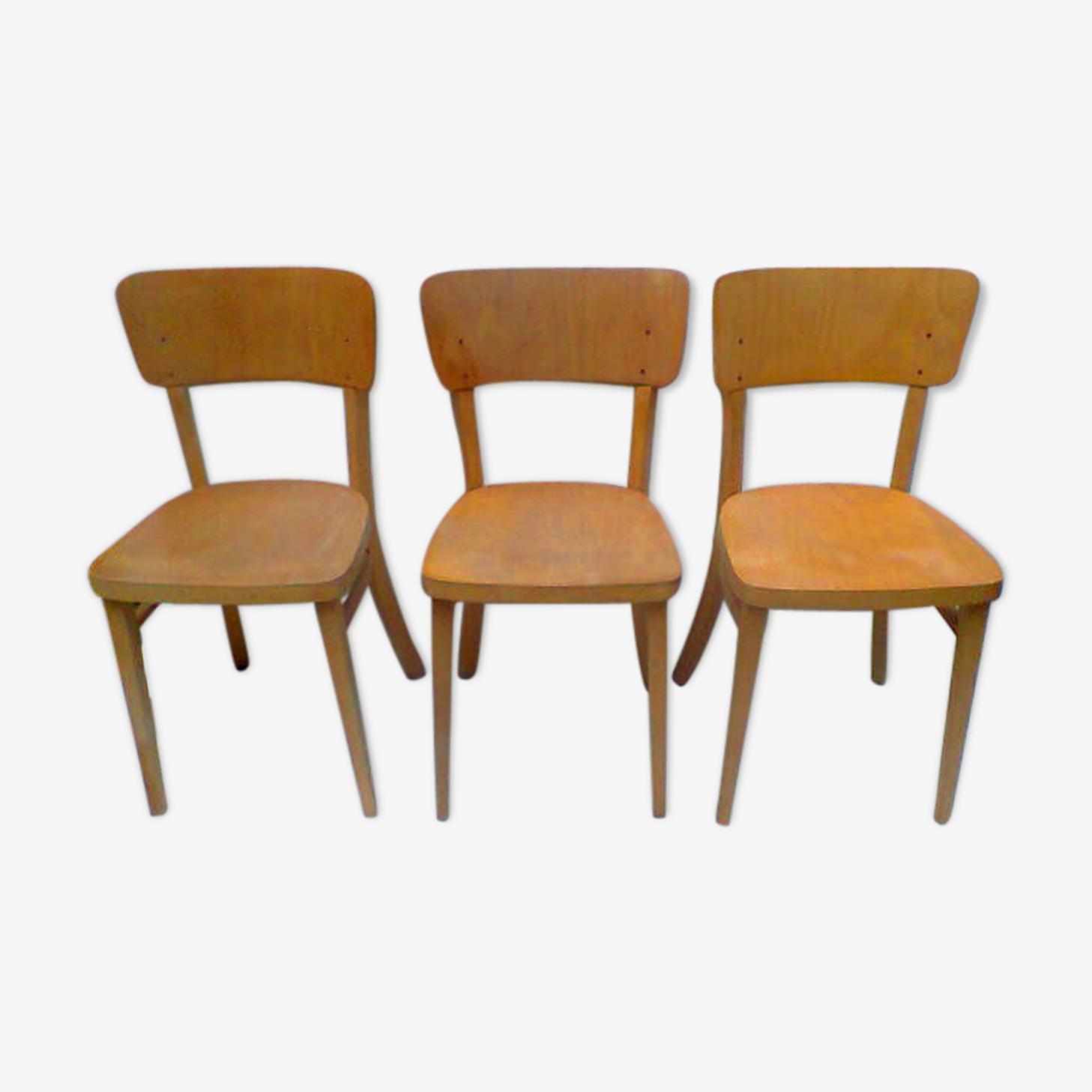 Suite de 3 chaises Thonet