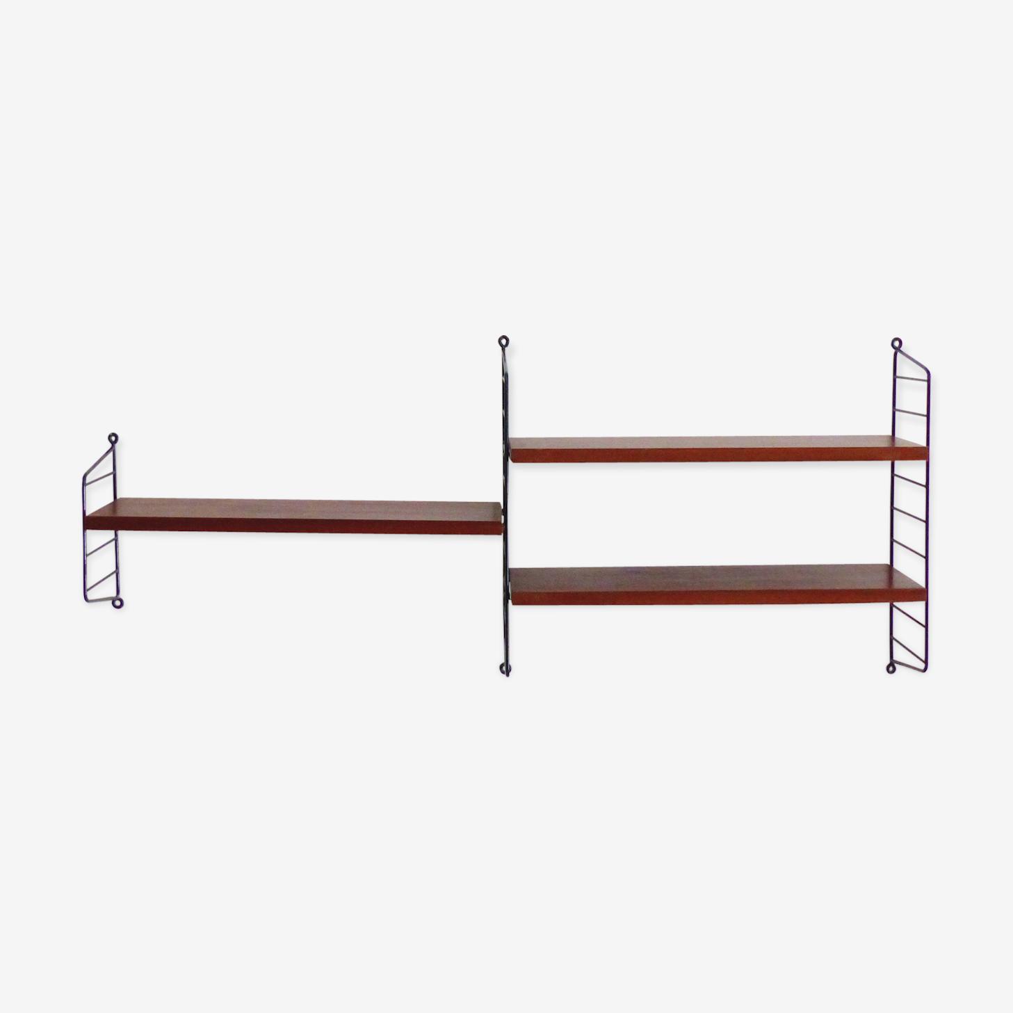 Système d'étagères modulables string de Nils (Nisse) Strinning