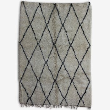 Carpet beni ouarain 100% wool, 300 x 210