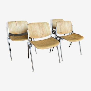 Ensemble de 4 chaises Castelli DSC106