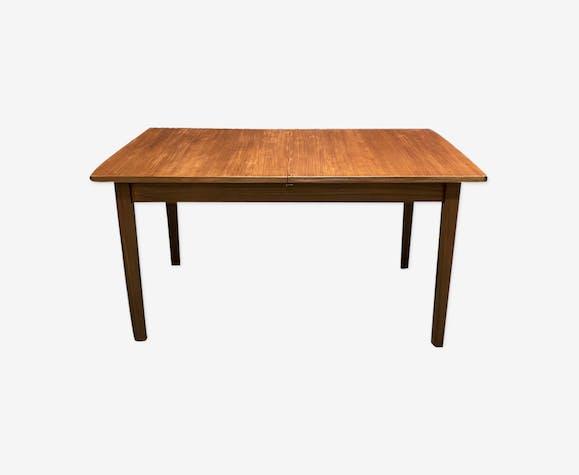 Table en teck des années 70 style scandinave