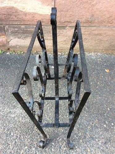 Porte revue des années 60 fer forgé
