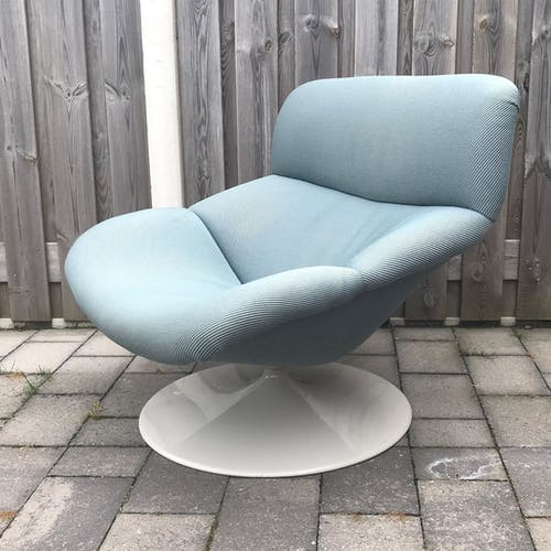 F518 armchair by Geoffrey Harcourt for Artifort 1980s