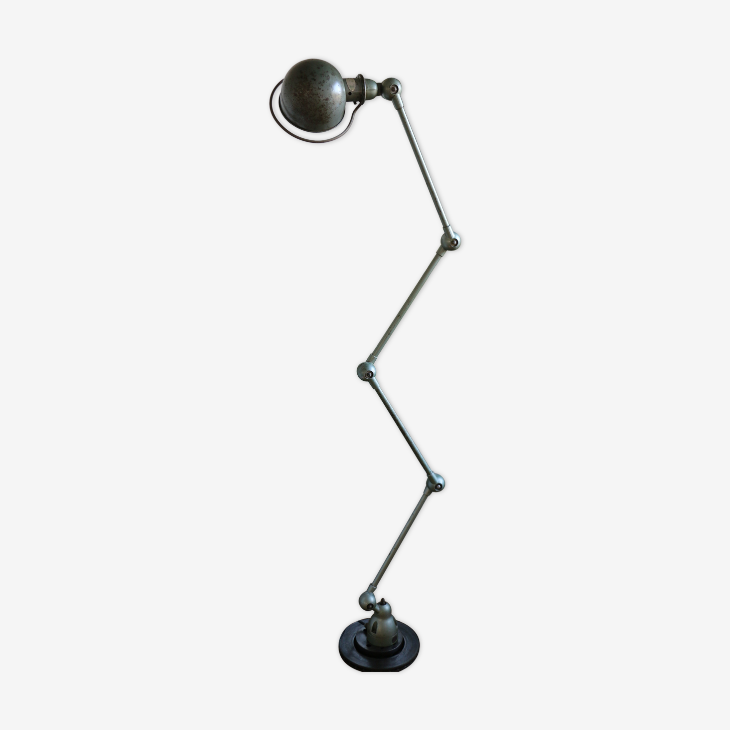 Lampe Jielde A 4 Bras Verte Des Annees 50 Metal Vert Design
