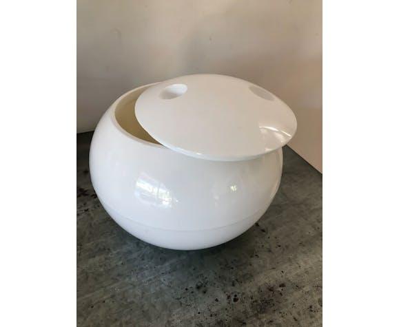 Bac à glaçon sphère blanche