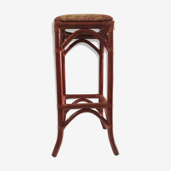 tabouret de bar osier free tabouret de bar en rotin noir hk living petite lily interiors with. Black Bedroom Furniture Sets. Home Design Ideas