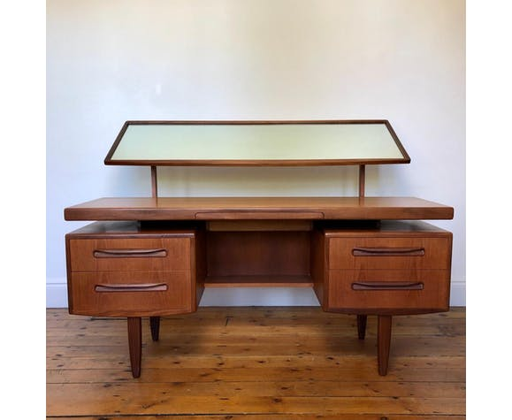 G Plan Fresco dressing table in teak & afrormosia with mirror