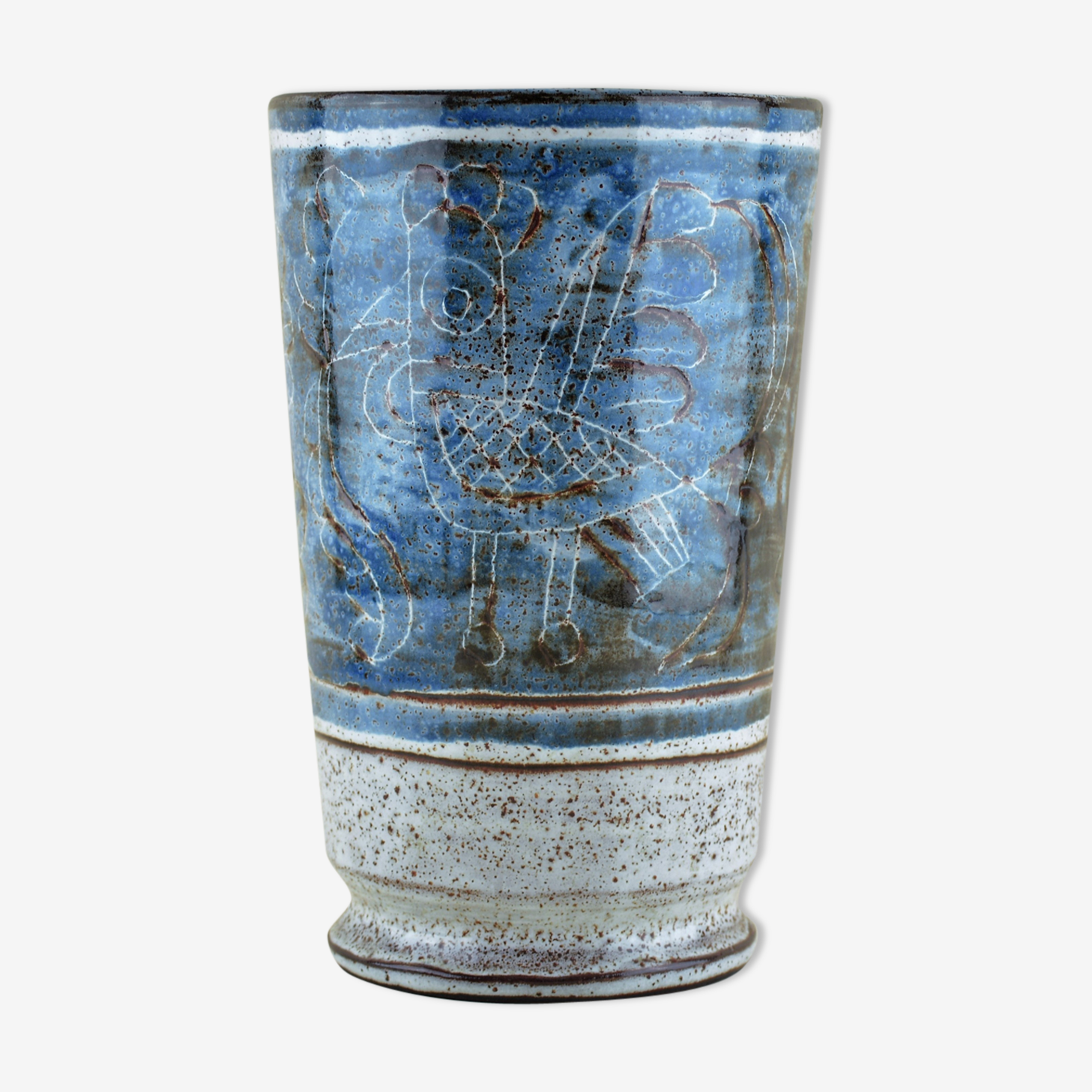 Vasse bleu années 60