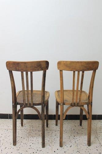 Lot de 4 chaises bistrot